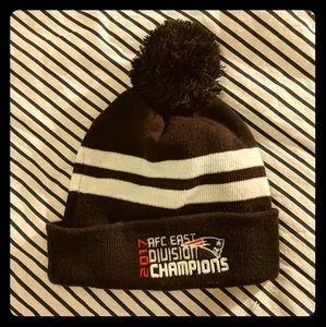 2017 AFC East Champs Patriots Beanie